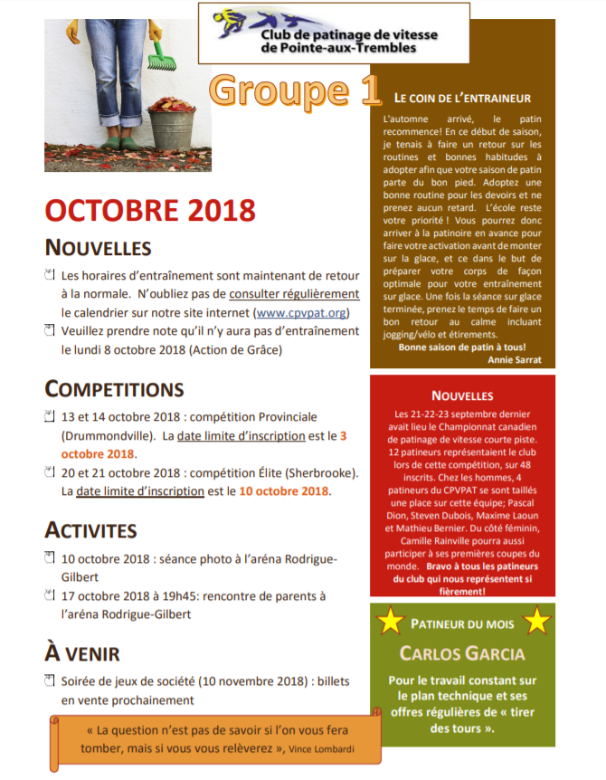 Journal octobre 2018_groupe 1